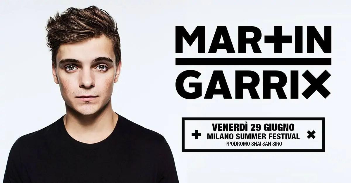 Martin Garrix @ Milano Summer Festival 2018 – Ippodromo SNAI San Siro – Ticket Pacchetti Hotel