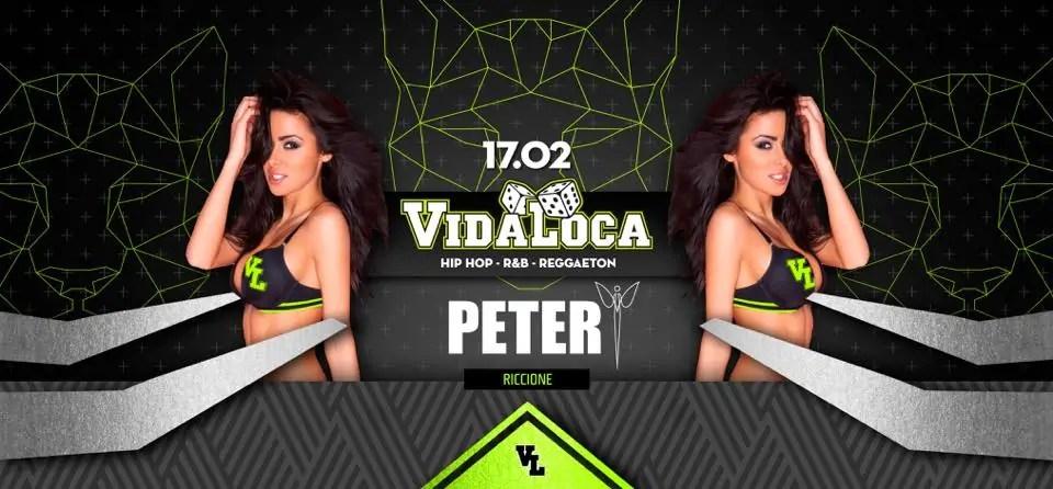 Peter Pan Riccione – Vida Loca – 24 Febbraio 2018 | Ticket Tavoli Pacchetti Hotel
