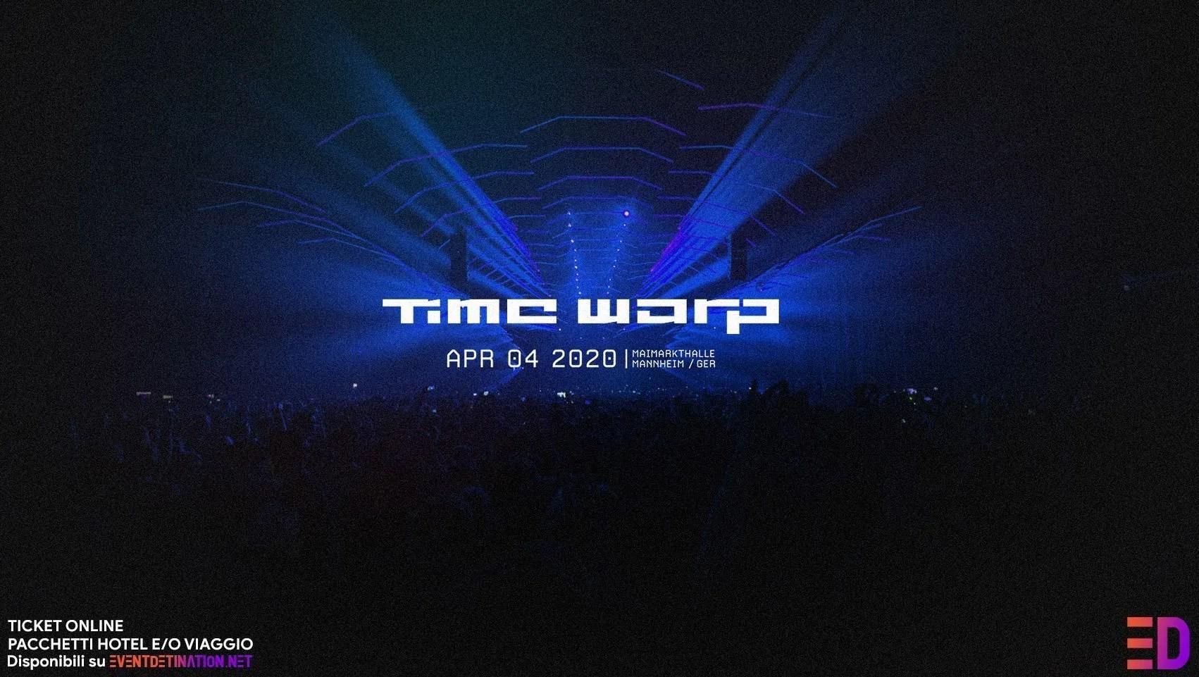Time Warp 2020 Germany Mannheim, Sabato 04 Aprile 2020 – Ticket e Pacchetti Hotel e Pacchetti Bus