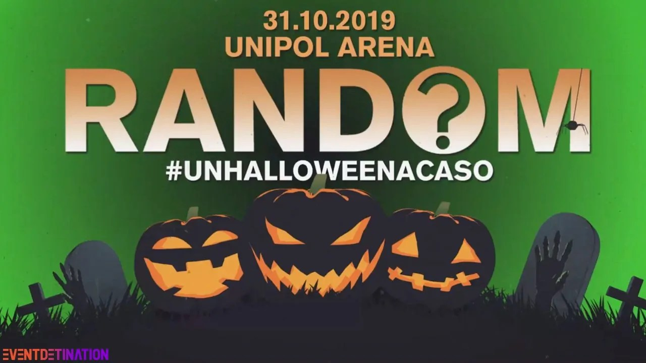 Random Party Unipol Arena Bologna Halloween 2019