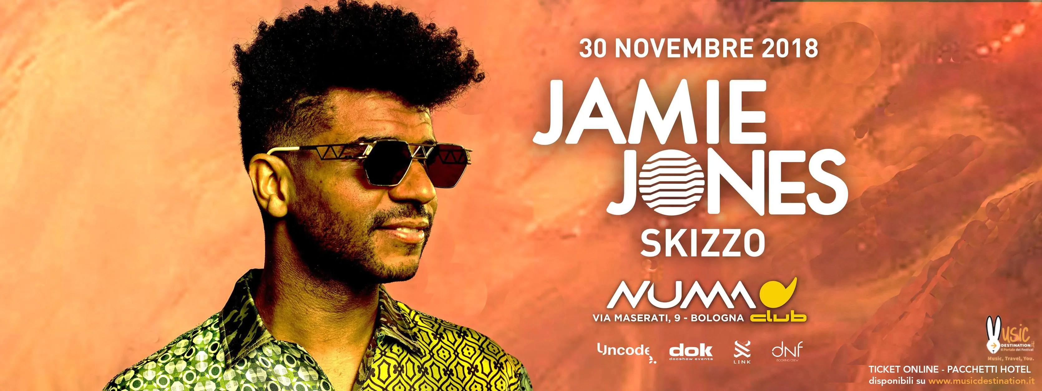 Jamie Jones Numa Bologna30 Ottobre Ticket Pacchetti Hotel