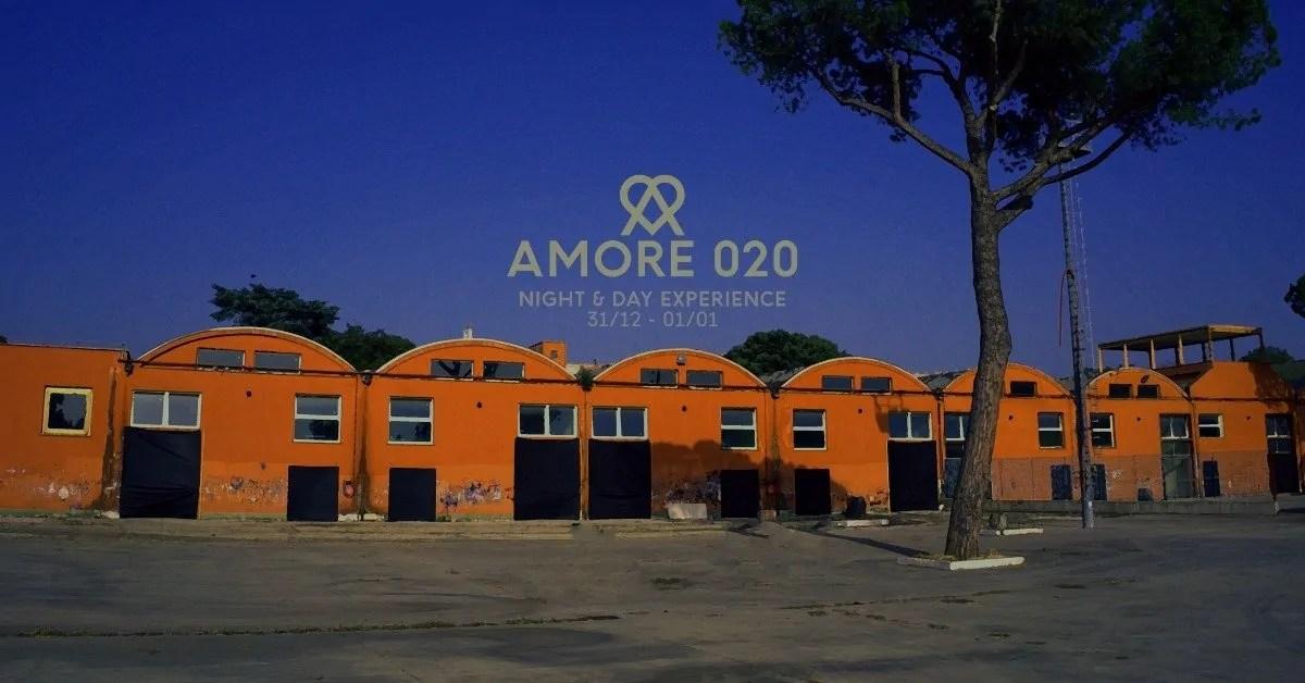 AMORE FESTIVAL 2020 ROMA CAPODANNO 31 12 2019