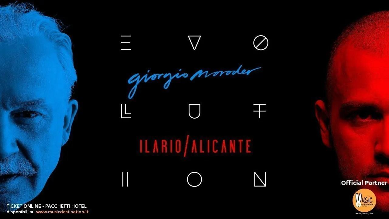 Evolution Giorgio Moroder Ilario Alicante RDS Stadium Rimini 05 Gennaio 2019 | Prezzi Ticket biglietti tavoli Pacchetti hotel