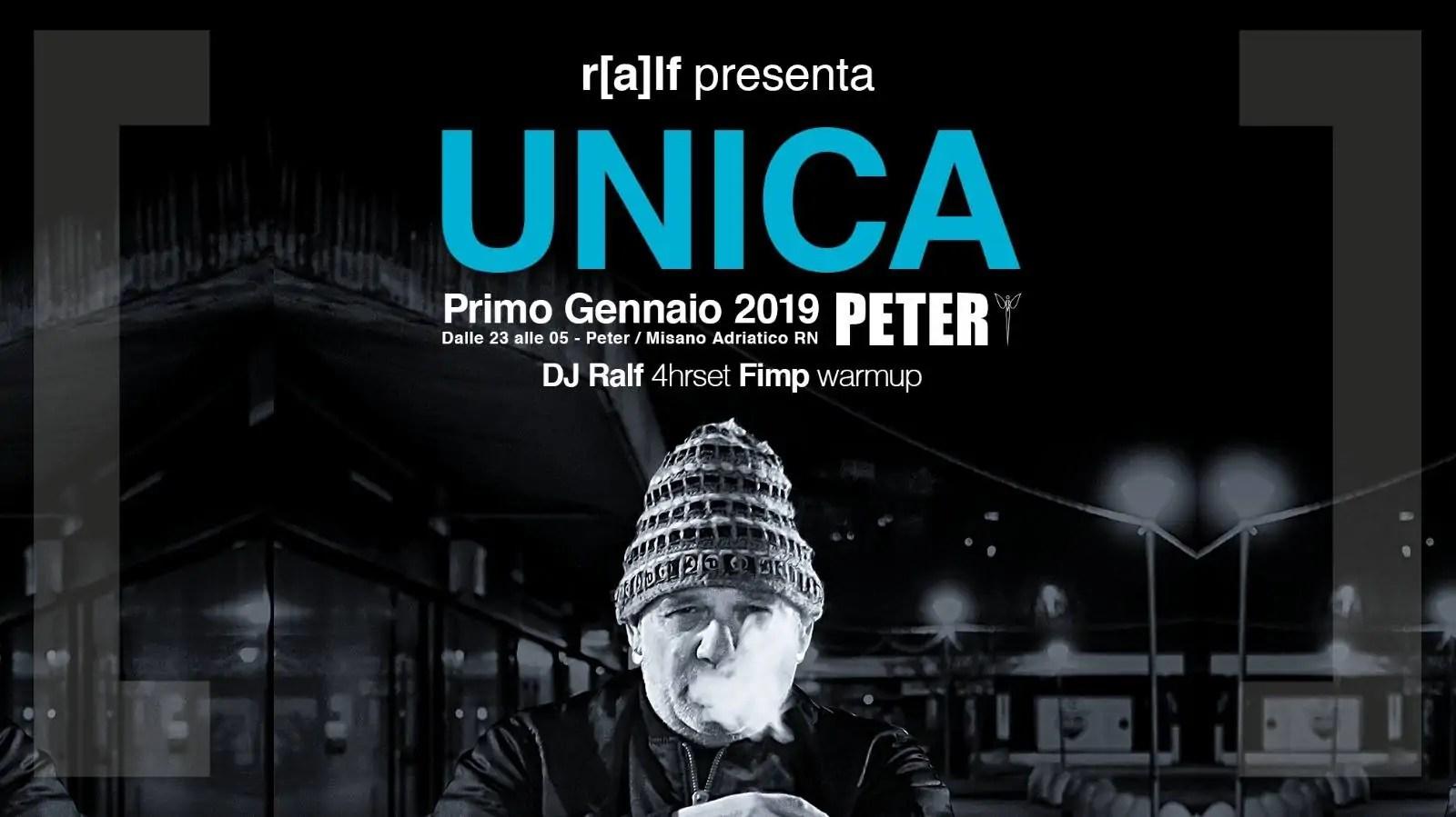Dj Ralf Peter Pan Riccione 01 Gennaio 2019 + Prezzi Ticket in Prevendita Biglietti Tavoli Liste Pacchetti Hotel