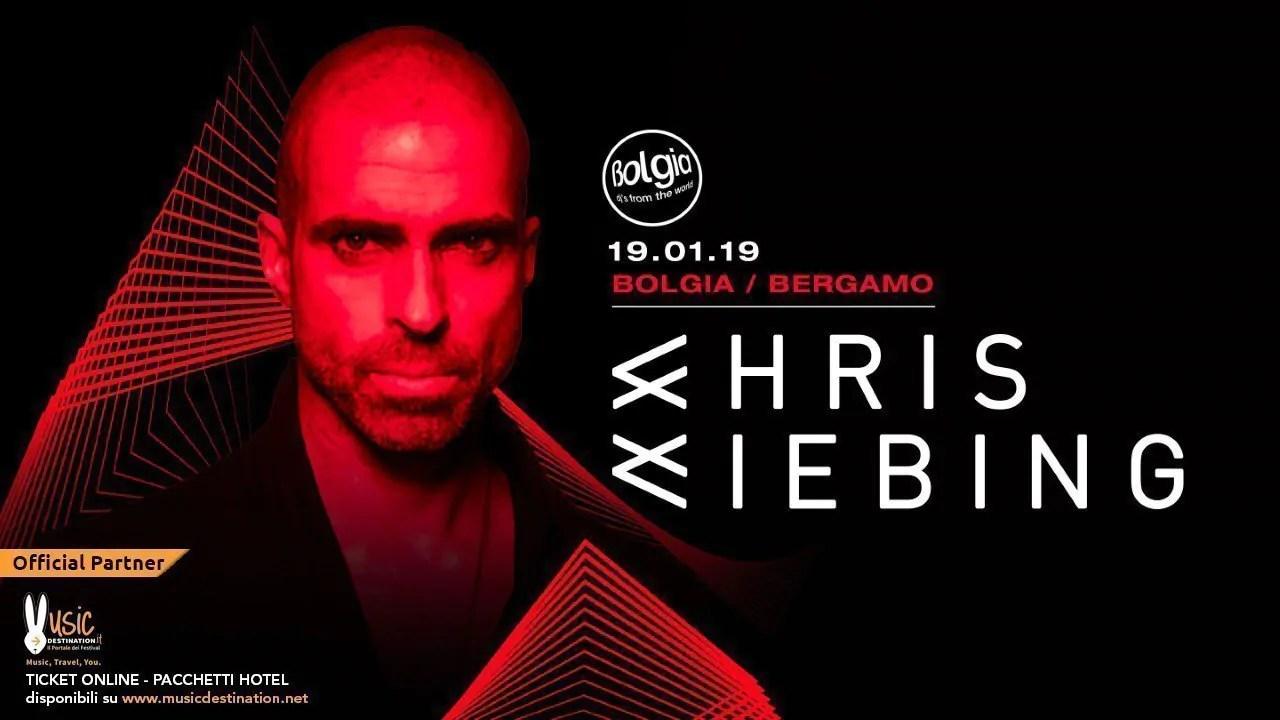 Chris Liebing Bolgia Bergamo 19 Gennaio 2019