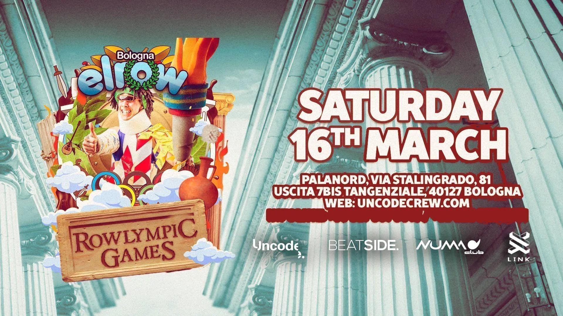 ELROW Bologna – Palanord – Sabato 16 Marzo 2019 – Ticket – Biglietti – Pacchetti Hotel