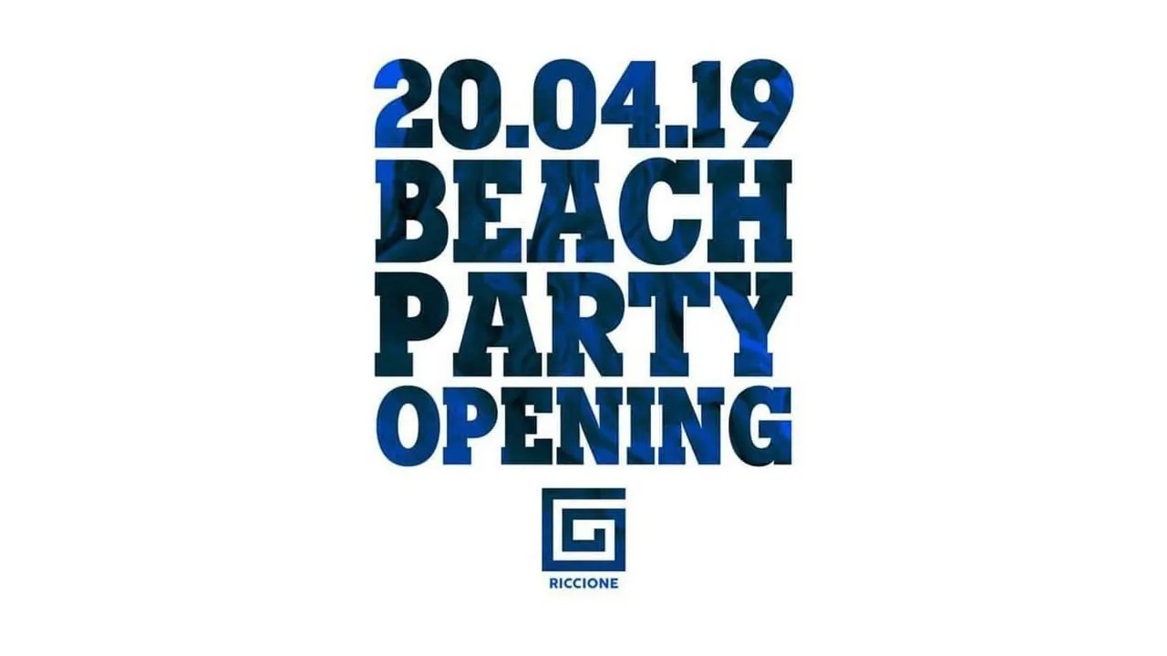 Samsara Beach Riccione Opening Party 20 Aprile 2019 – Summer 2019