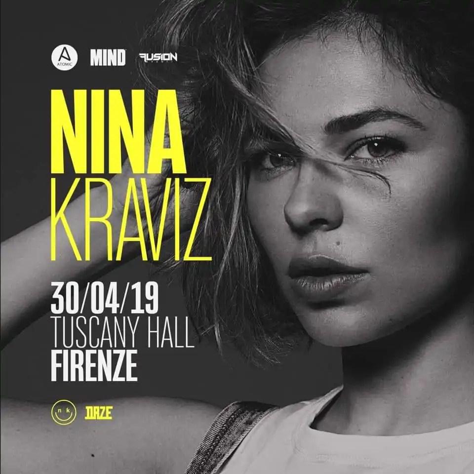 Tuscany Hall Firenze pres. NINA KRAVIZ Martedì 30 Aprile 2019 | Ticket/Biglietti Tavoli Pacchetti hotel Prevendite