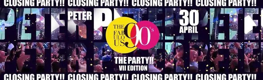 Fabulous 90 a Peter Pan Riccione 30 Aprile 2019 + Prezzi Ticket in Prevendita Biglietti Tavoli Liste Pacchetti Hotel