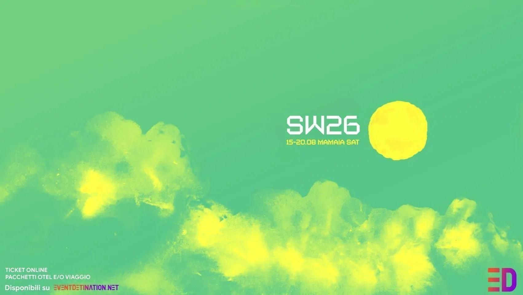 SUNWAVES 2019 Festival SUMMER EDITION Mamaia Romania SW26 | 15 – 20  Agosto | Ticket Pacchetti hotel