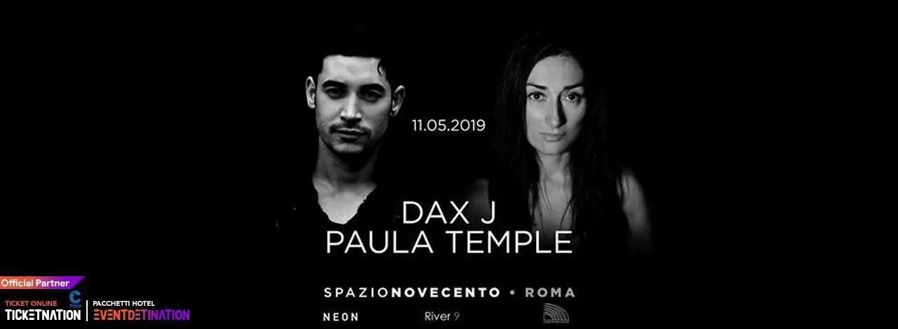 DAX J at Spazio Novecento Roma – Sabato 11 Maggio 2019 | Ticket/Biglietti/Prevendite 18APP Tavoli Pacchetti hotel Prevendite