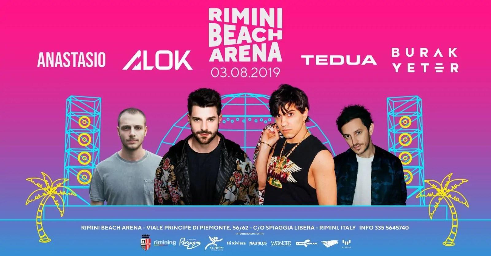 Tedua Rimini Beach Arena