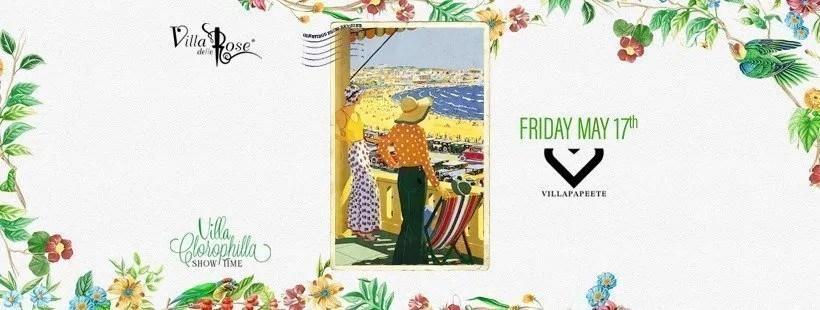 Villa delle Rose Venerdì 17 Maggio 2019 + Prezzi Ticket/Biglietti/Prevendite 18APP Tavoli Pacchetti hotel
