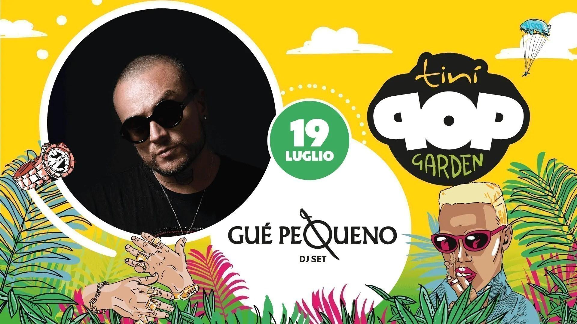 Guè Pequeno al Tinì Soundgarden Cecina – Venerdì 19 Luglio 2019 | Ticket/Biglietti/Prevendite 18APP Tavoli Pacchetti hotel Prevendite