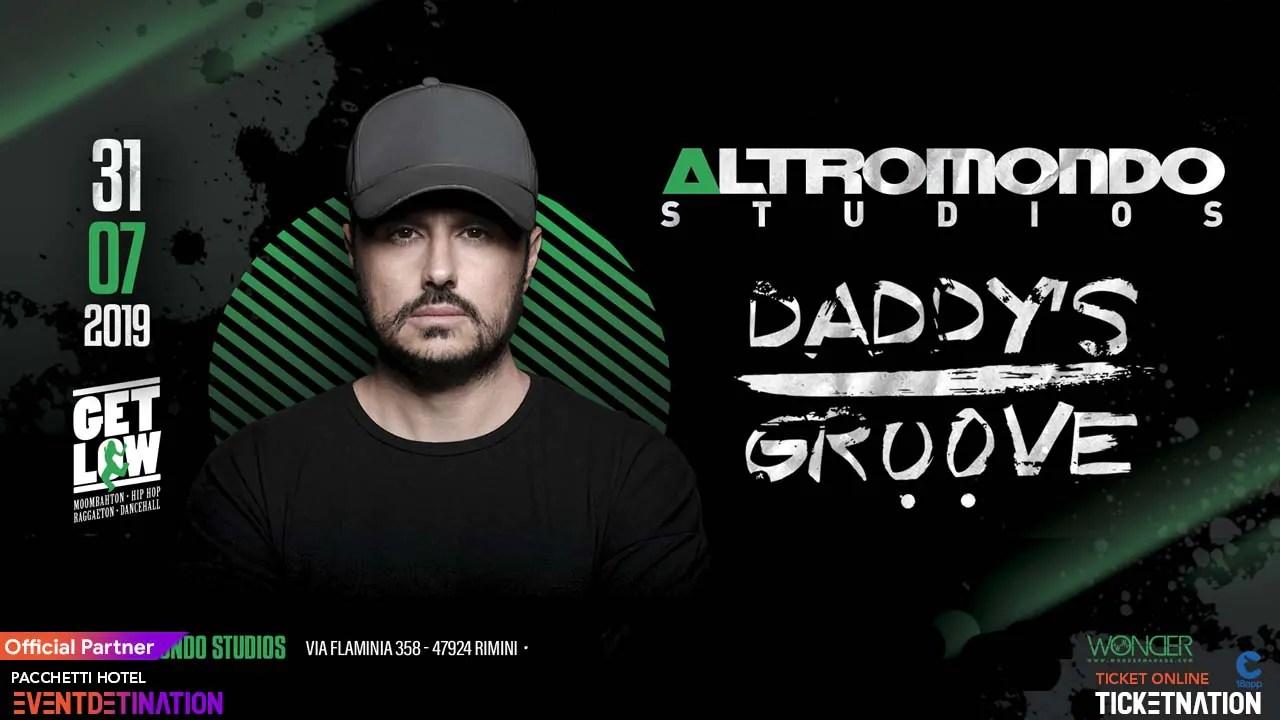 Mercoledì 31 07 2019 DEDDY'S GROOVE Altromondo Studios Rimini + Prezzi Ticket/Biglietti/Prevendite 18APP Tavoli Pacchetti hotel