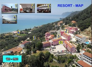 mappa resort pacchetto