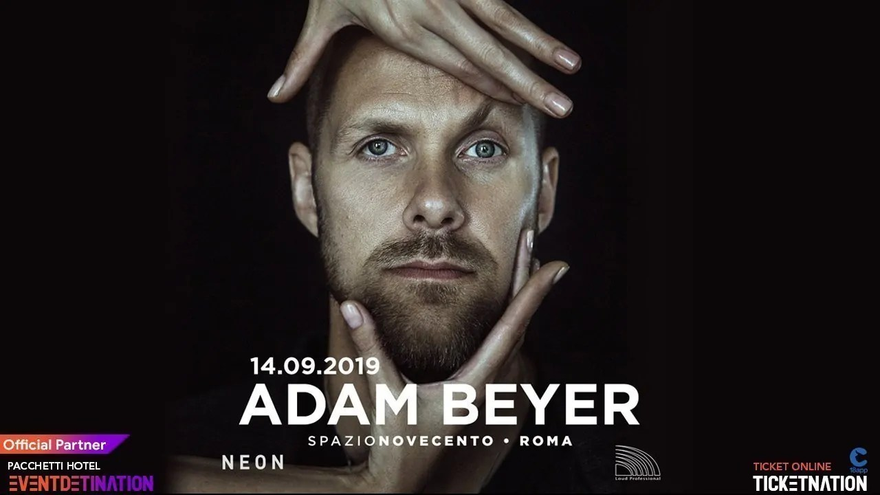 Adam Beyer Spazio Novecento Roma – Sabato 14 09 2019 Opening Party