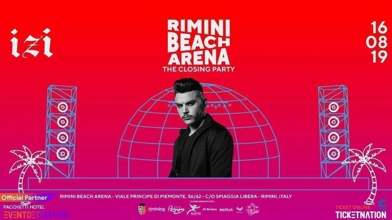 IZI in Concerto Rimini Beach Arena – Venerdì 16 08 2019