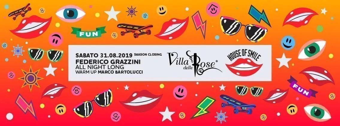 Villa Delle Rose House Of Smile 31 Agosto 2019