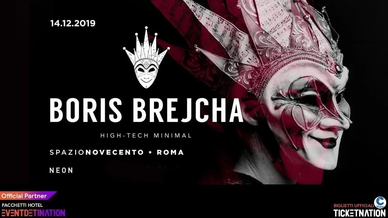 Boris Brejcha Spazio Novecento Roma – Sabato 14 12 2019