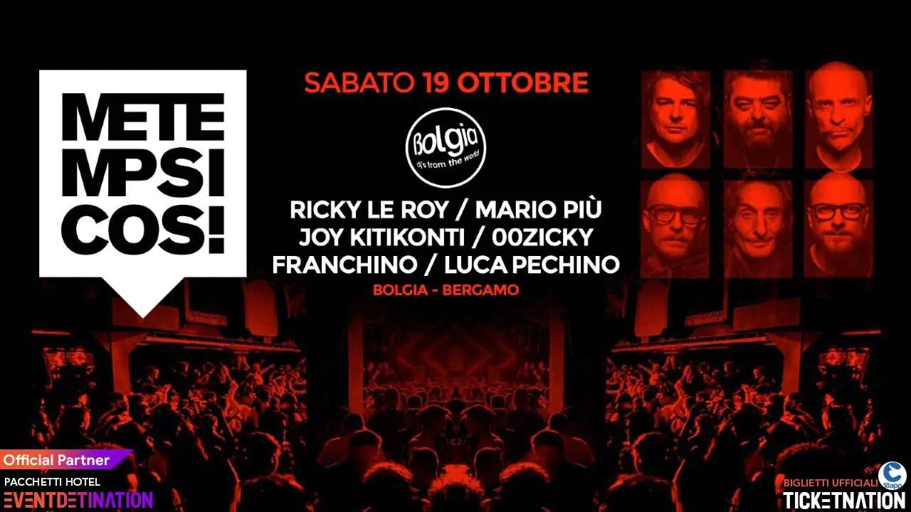 Metempsicosi Bolgia Bergamo 19 Ottobre 2029 Ok