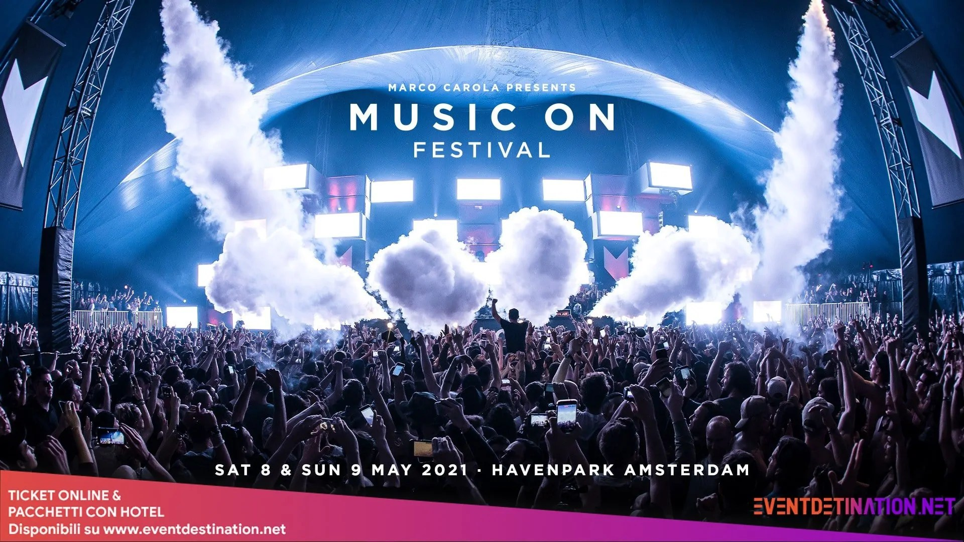 MUSIC ON Festival 2021 Amsterdam – Week End 08 E 09 Maggio 2021