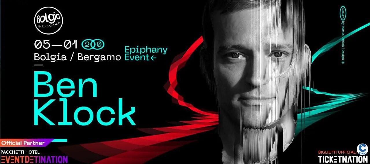 Ben Klock al Bolgia Bergamo 05 01 2020 Epiphani Event