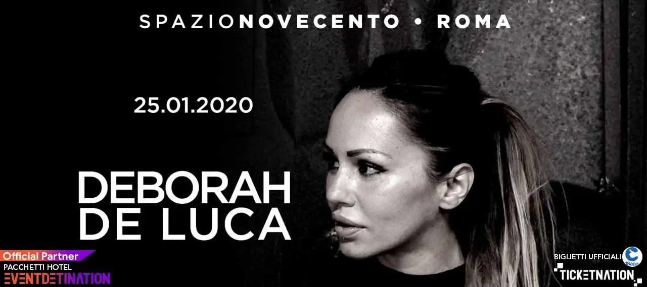 Deborah De Luca Spazio Novecento Roma 25 01 2020-min