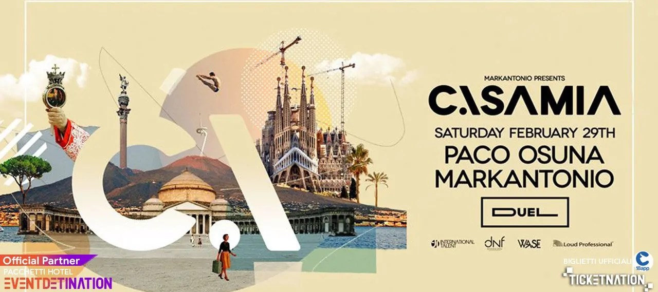 Paco Osuna Markantonio Al Duel Club Napoli Casamia International Talent – Sabato 29 02 2020
