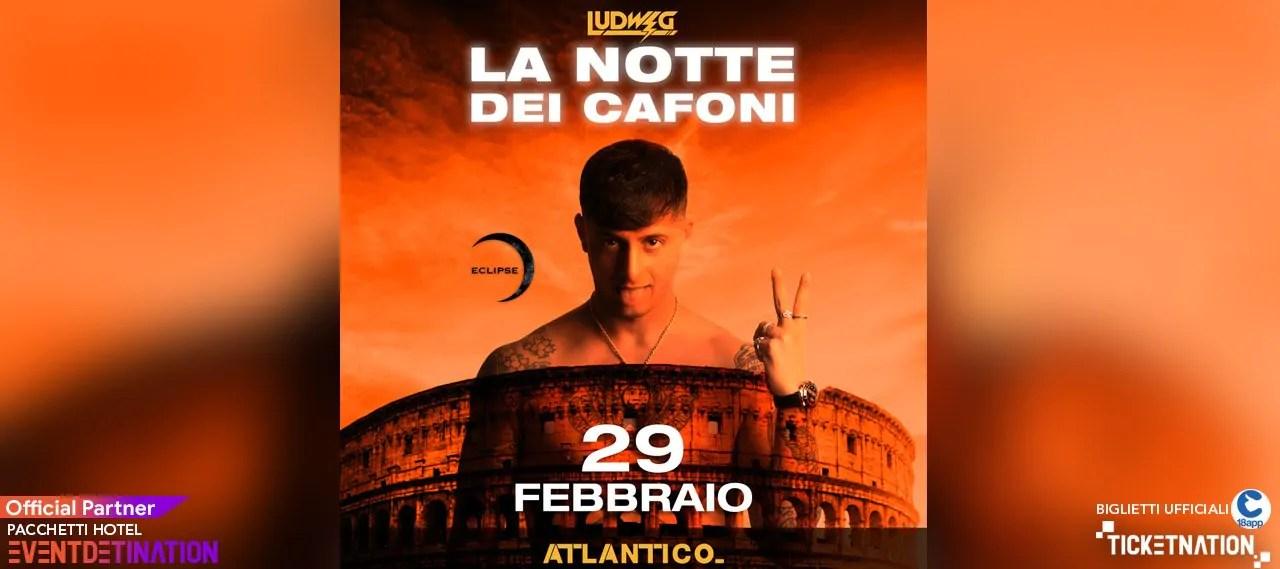 Ludwig Atlantico Live Roma 29 Febbraio 2020