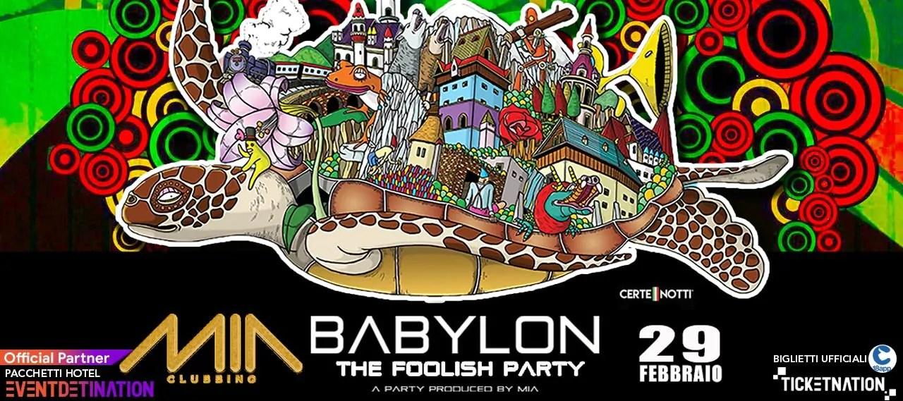 Babylon Party al Mia Clubbing Porto Recanati il 29 02 2020