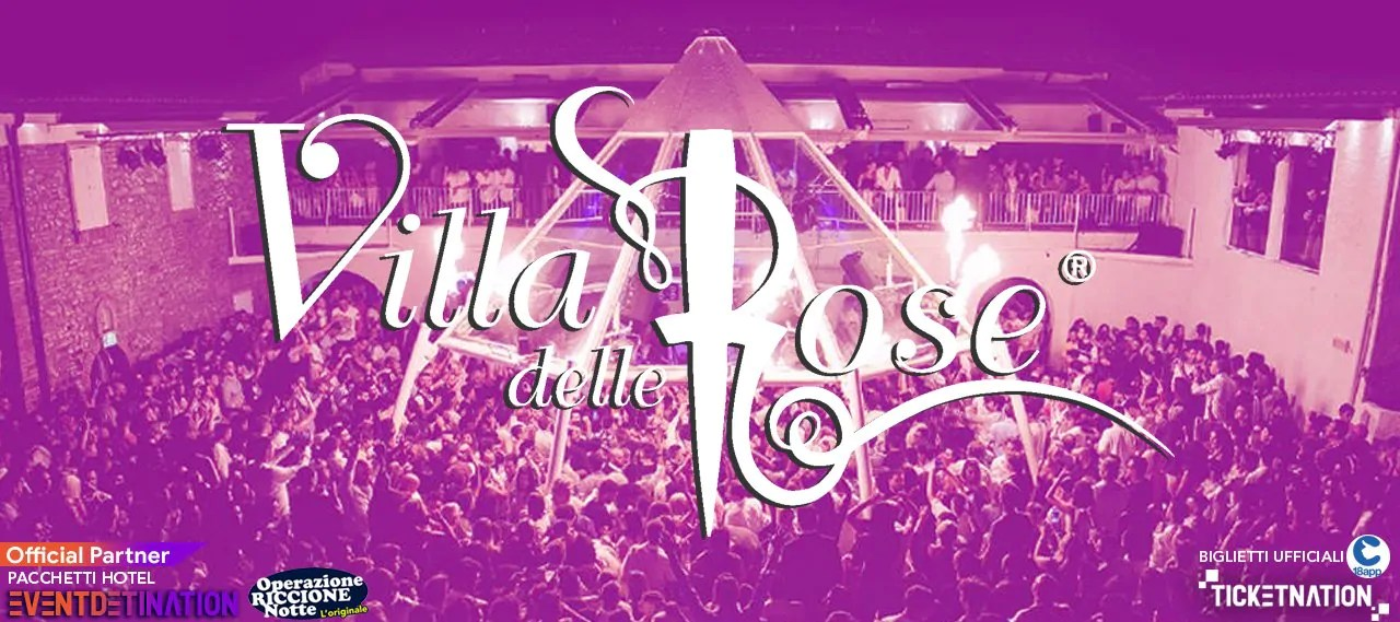 Notte Rosa 2020 Villa delle Rose – Sabato 04 07 2020