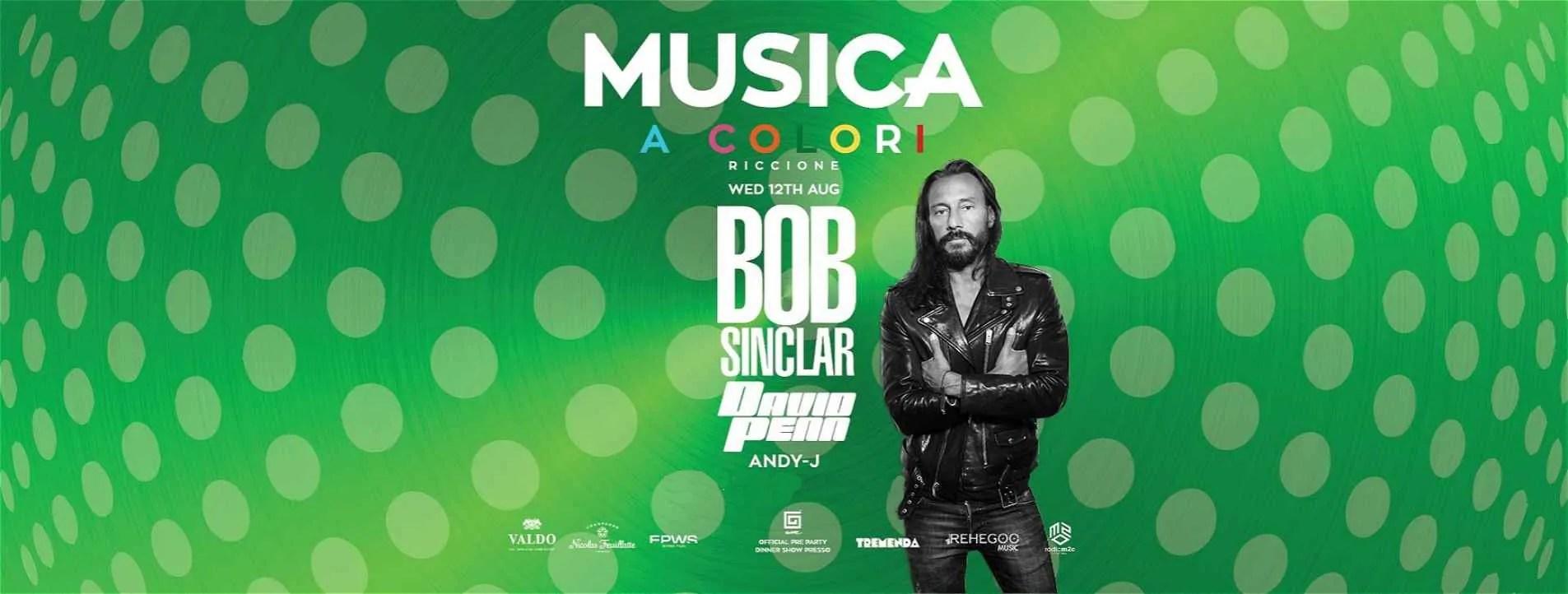 BOB SINCLAR MUSICA RICCIONE 12 08 2020