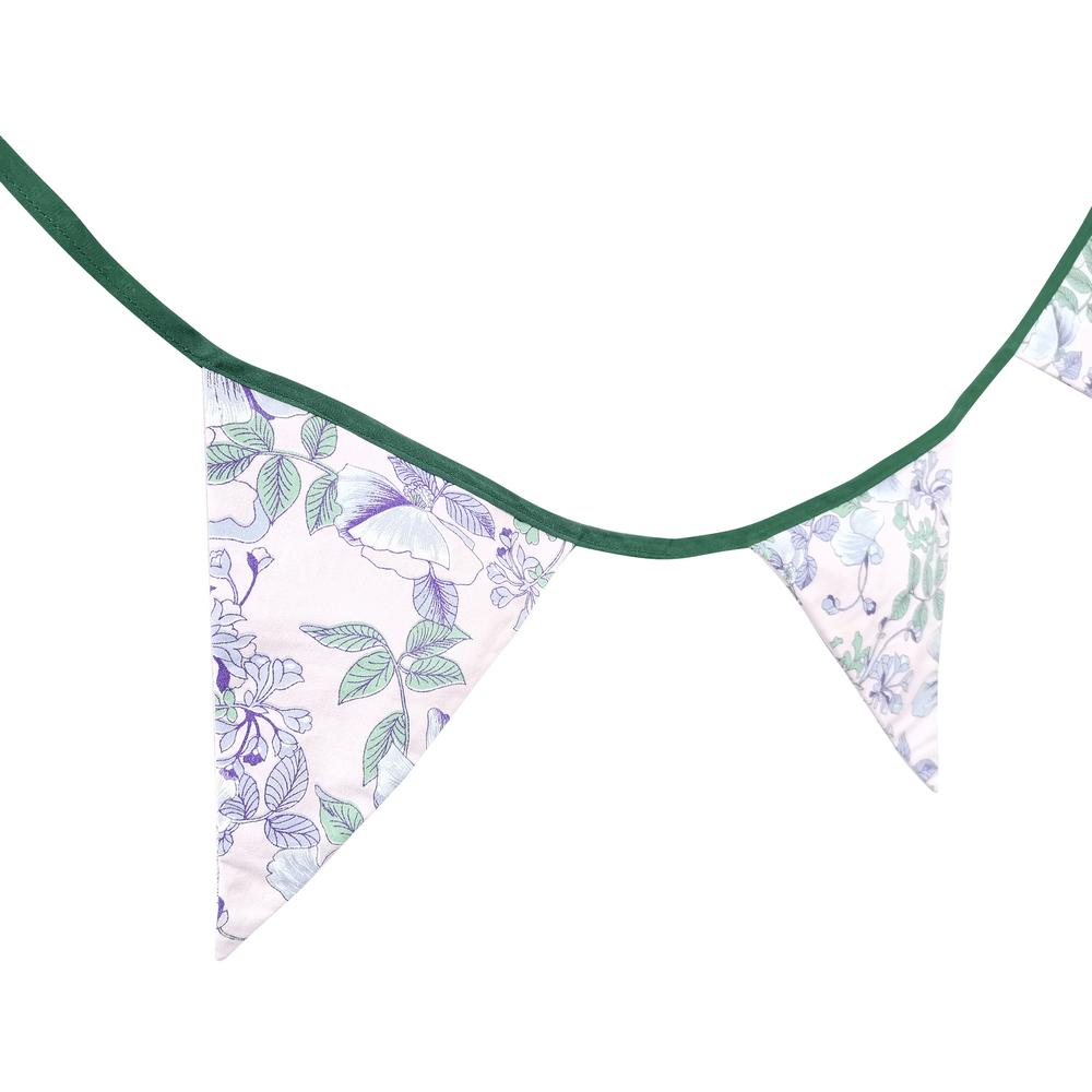 guirlande botanique tissu