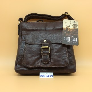 Rowallan Leather Bag. 6509 Bronco Brown.
