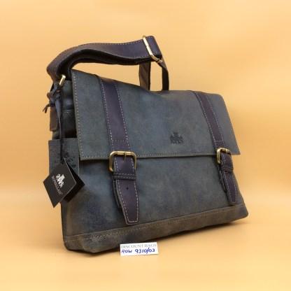 Rowallan Leather Bag. 9310/03 Brushwood