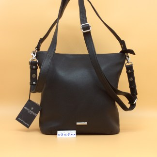 Nova Leather Bag. N876. Black