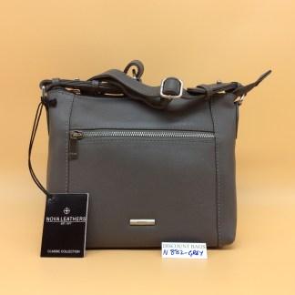 Nova Leather Bag. N882 Grey