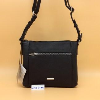 Nova Leather Bag N882. Black