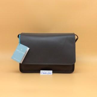 Nova Leather Bag. N768. Grey