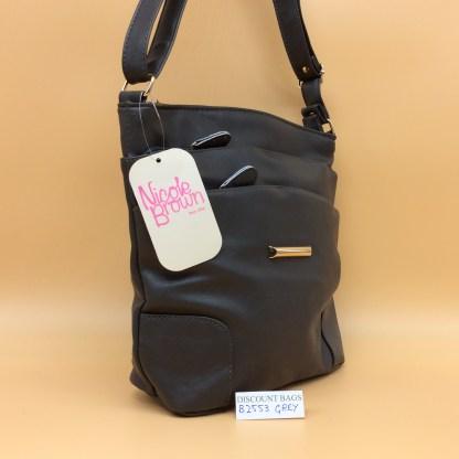 Nicole Fashion Bag. 2553.Grey