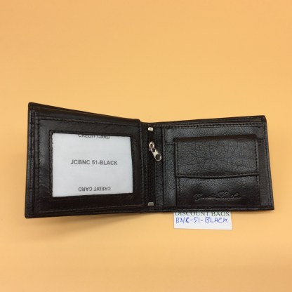 RFID Leather Wallet - NC51. Black only