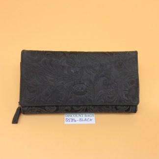 London Leather Goods. 0584. Black
