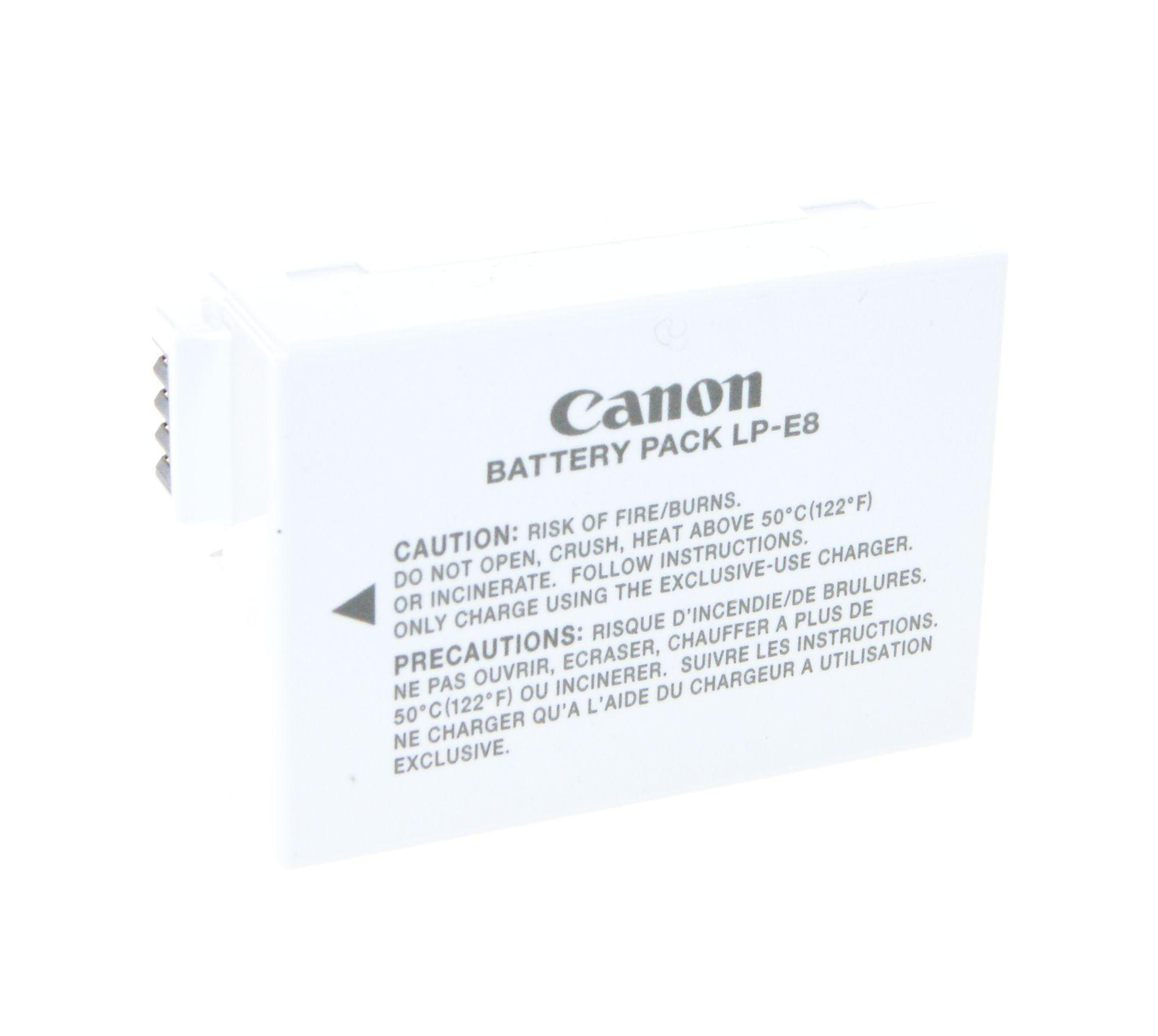 Canon Genuine Original Lp E8 Camera Battery