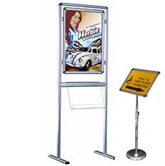 Pop up displays for trade shows
