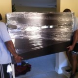 moving shrink wrapped furniture
