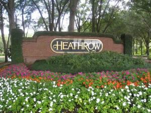 Entry to Heathrow, FL