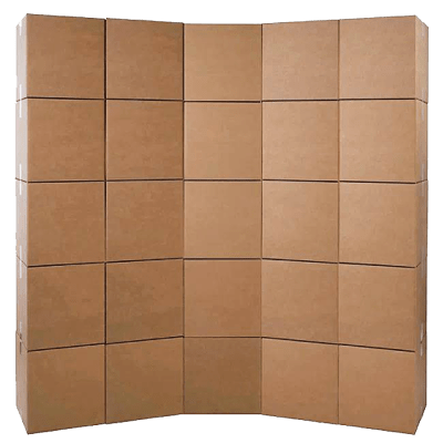 small moving boxes 25 pack bundle