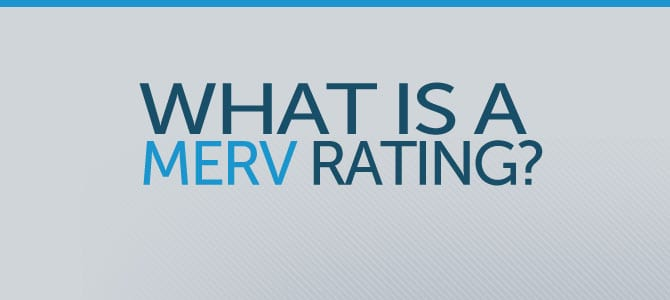 MERV Rating