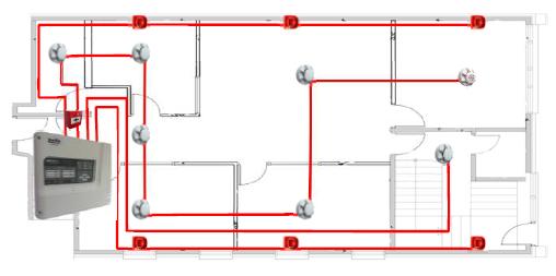 fire alarm wiring diagram addressable  toyota tacoma